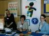 Vorstand des DKSB bei einer Präsentation für Zonta: Freya Plashues, Astrid Hildebrand, Beate Schirrmacher